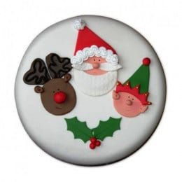 Special Delicious Merry Christmas Cake - 1 KG