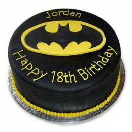 Mouthwatering Batman Cake - 500 Gm
