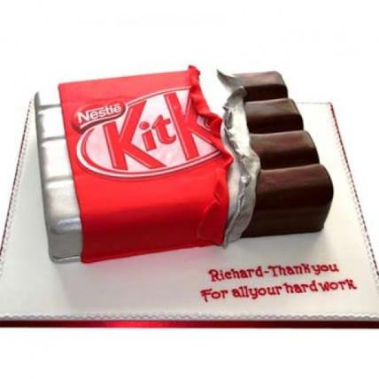 Kit Kat Shaped Cake - 1 KG
