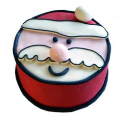 Santa Claus Xmas Cake - 1 KG