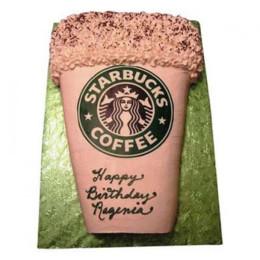 Designer Starbucks Cake - 1 KG