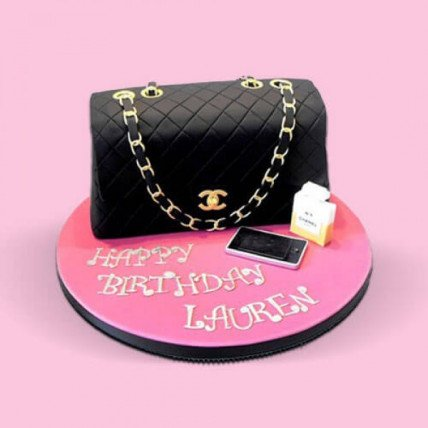 Classy Handbag Fondant Cake - 2 KG
