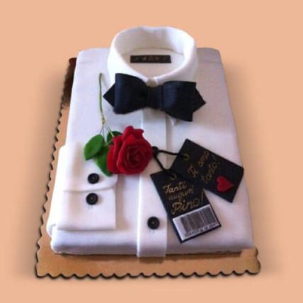 Designer Shirt Cake - 1 KG