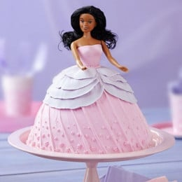 Doll In Pink Dress Cake - 2 KG