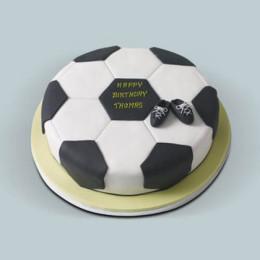 Football Fondant Cake - 1 KG