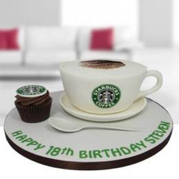 Forever Starbucks Cake - 1 KG
