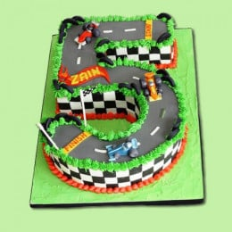 Racing Car Cake - 3 KG