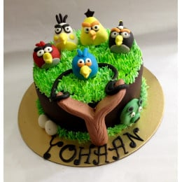 Colourful Angry Birds-1.5 Kg