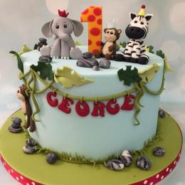 Zoo Animal Cake-1.5 kg