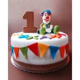 Clown Carnival Cake-1 kg