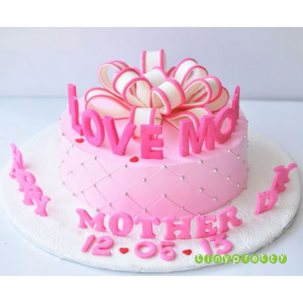 Awesome Love You Mom 1 Kg An Aww Moment Cake For All The Mothers It Will Personalised Birthday Cards Rectzonderlifede