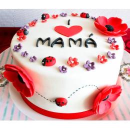 Flower Bug Cake-0.5 Kg