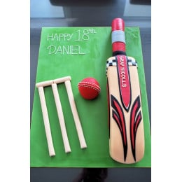 Cricket Bat Cake -1.5 Kg