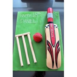 Cricket Bat Cake -1.5 Kg