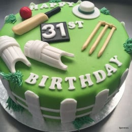Cricket Fever Cake-1.5 Kg