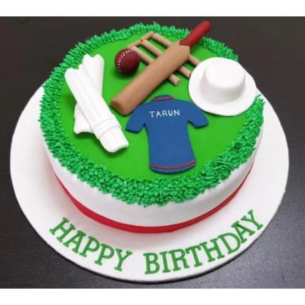 Fondant Cricket Cake-1 Kg