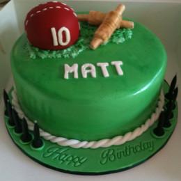 Cricket Pitch Cake-1.5 Kg