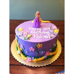 Rapunzel With Flowers Cake-2 Kg