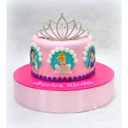 Disney Princess Designer Cake-1 Kg