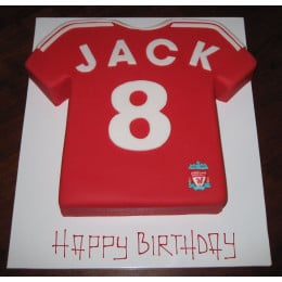 Liverpool Fan Club Cake-1.5 Kg