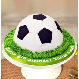 Mouth Watering Football Cake-1.5 Kg