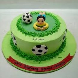 Football Player Cake-1.5 Kg