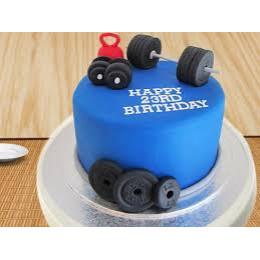 Dumbbell Gym Cake-1 Kg