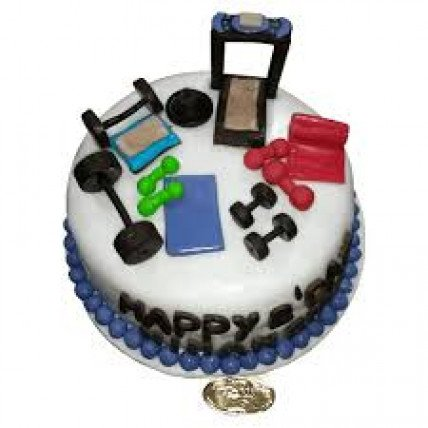 Gym Equipments Cake-1.5 Kg