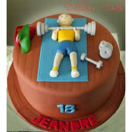 Real Workout Cake-1.5 Kg