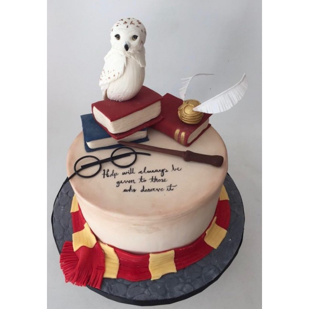 Wondrous Harry Potter Birthday Cake 1 5 Kg Do You Solemnly Swear You Are Personalised Birthday Cards Paralily Jamesorg