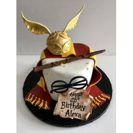 Harry Potter Magic Wand Cake-1.5 Kg