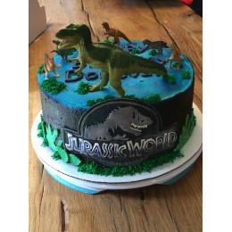Jurassic Fall Of Kingdom Cake-2 Kg