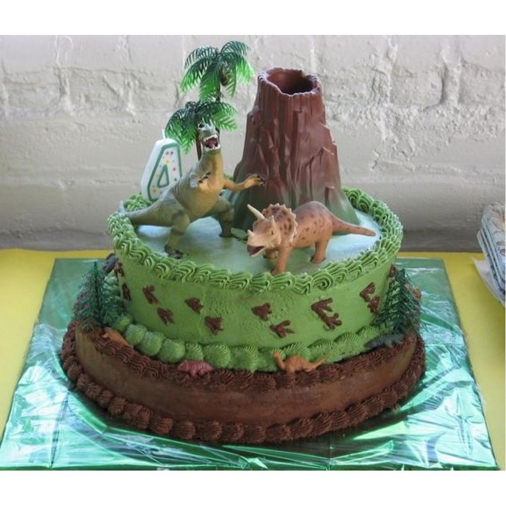 Astonishing Jurassic Birthday Cake 6 Kg Dinosaurs Jungle Theme Cake Its A Personalised Birthday Cards Bromeletsinfo