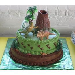 Jurassic Birthday Cake-3 Kg