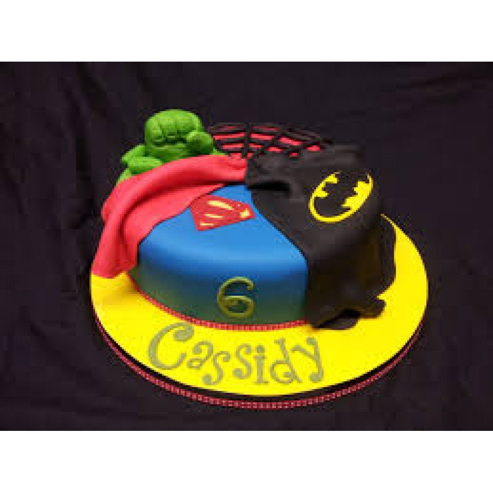 Awe Inspiring Marvel Birthday Cake 2 Kg We Are Ready To Serve You Kids Personalised Birthday Cards Veneteletsinfo