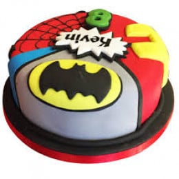 Kids Marvel Cake-1.5 Kg