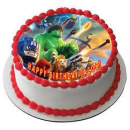 Marvel Photo Cake- 500 gm