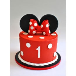 Minnie Mouse Cake-1 Kg
