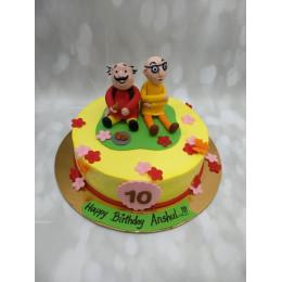 Motu Patlu Cake-1.5 Kg