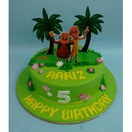 Motu Patlu Beach Cake-1 Kg