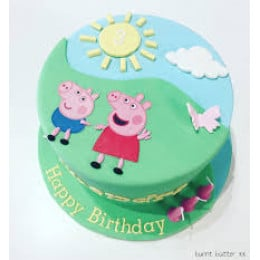 Peppa & George Cake- 500 gm