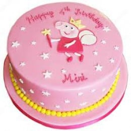 Peppa Girl Cake- 500 gm