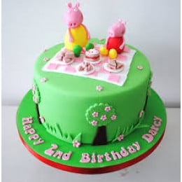 Peppa Pig & Mummy Pig Cake-1.5 Kg