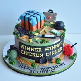 Pubg Squad Cake-2 Kg