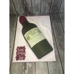 Wine Bottle Cake-1 Kg