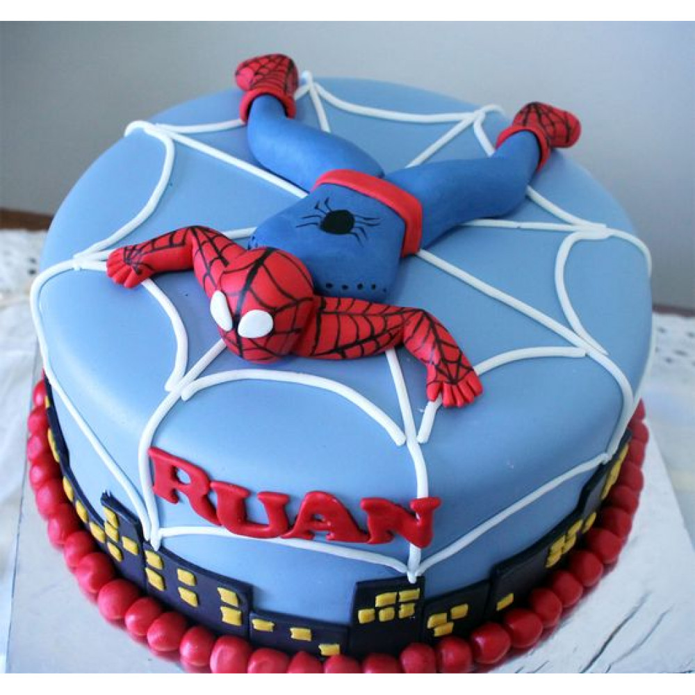 Excellent Spiderman Birthday Treat 1 5 Kg The Most Famous Cartoon Personalised Birthday Cards Paralily Jamesorg