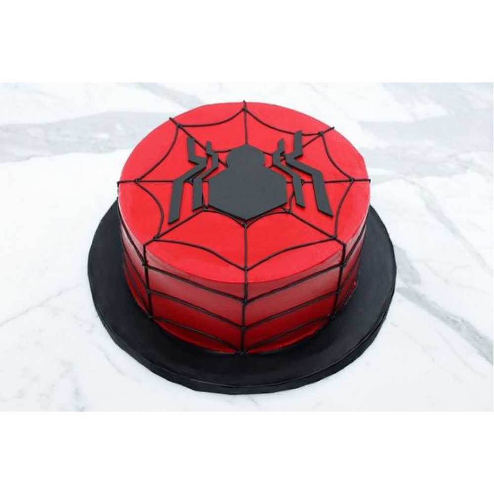 Pleasant Spiderman Birthday Cake 2 Kg Kids Love Spiderman If Your Child Personalised Birthday Cards Paralily Jamesorg