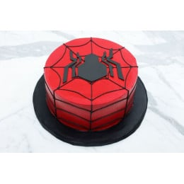 Spiderman Birthday Cake-0.5 Kg