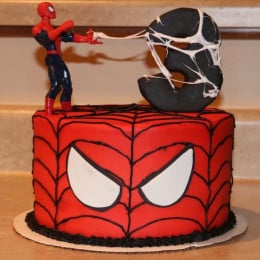 Spiderman Theme Cake-1.5 Kg