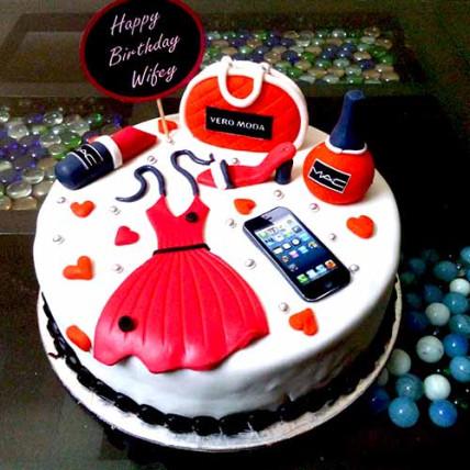 Girls Shopping Cake-1.5 Kg